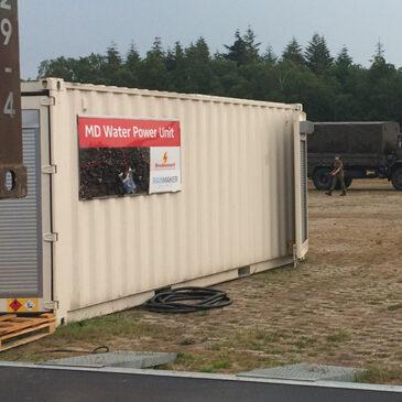 Watervoorzieningstechnologie voor Nederlandse militaire bases
